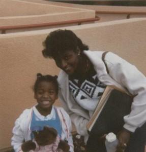 Kimberly Lola and Mom