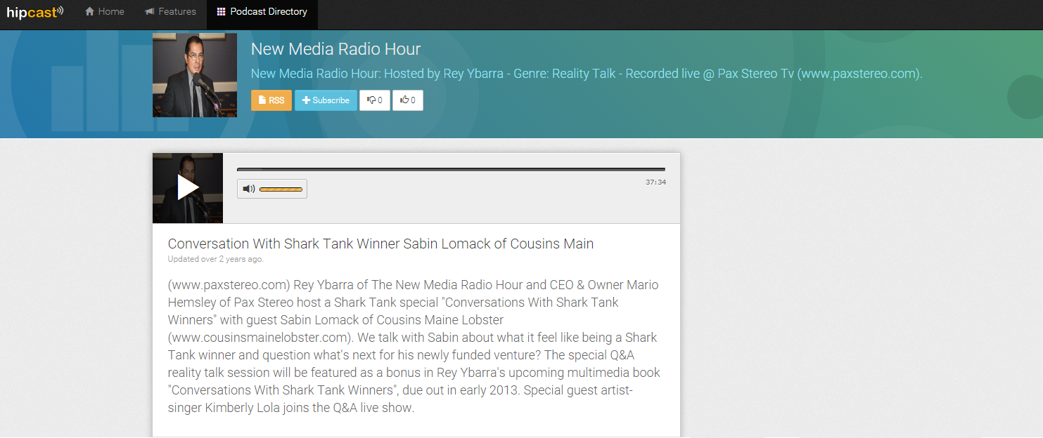 New Media Radio Hour Shark Tank Kimberly Lola Sabin Lomack